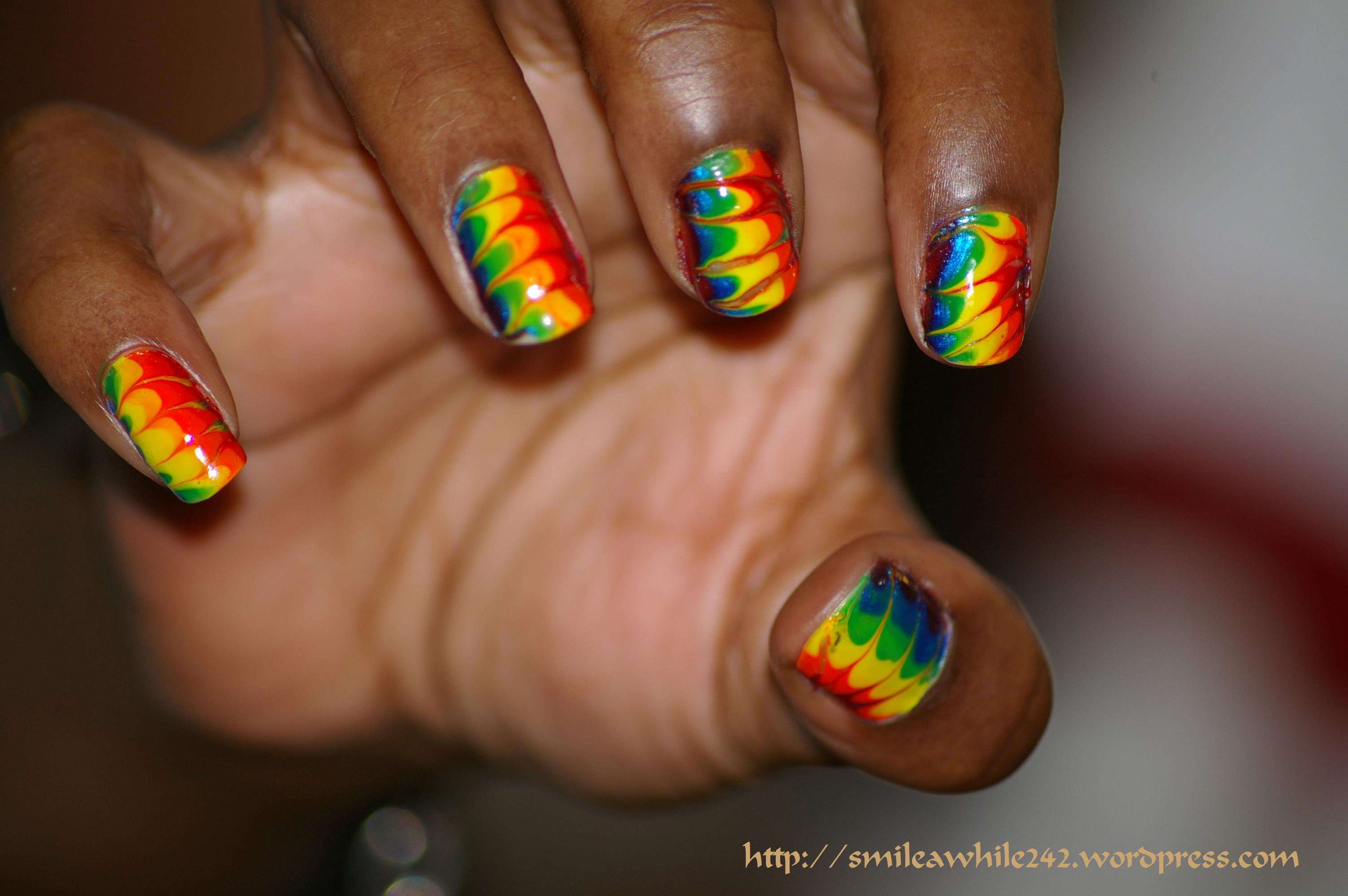 Hippie Nail Art Meh
