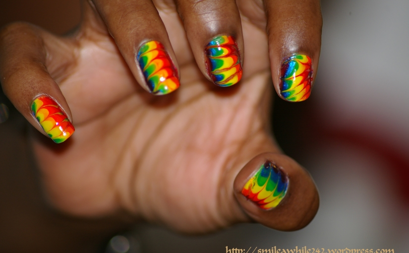 Hippie nail art meh just another nail blog prinsesfo Choice Image