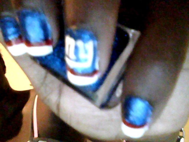 Superbowl XLVI Nail Art
